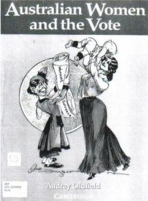Aust Women and the Vote book cover